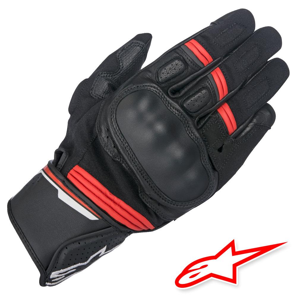 Alpinestars Guanti Moto Alpinestars Booster Nero Rosso