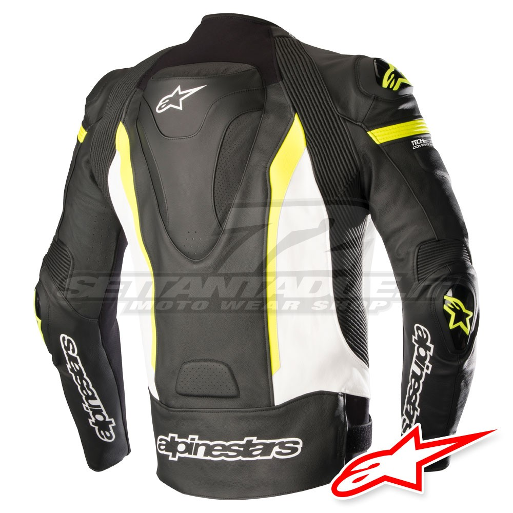Alpinestars Giacca Pelle MISSILE TECH AIR™ Airbag Compatibile
