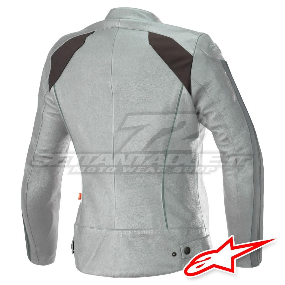 promo code 57583 d355e Alpinestars Giacca Pelle STELLA DYNO V2