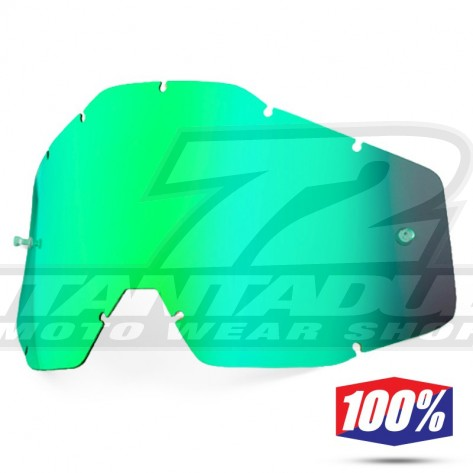 100% Lente Maschere - Verde Specchio
