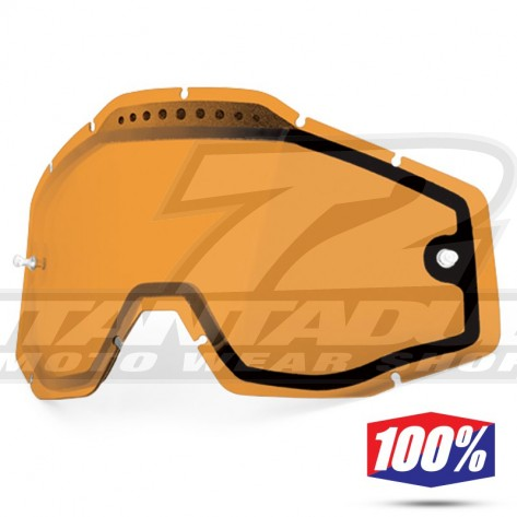 100% Lente Maschere - Doppia Ventilata Persimmon