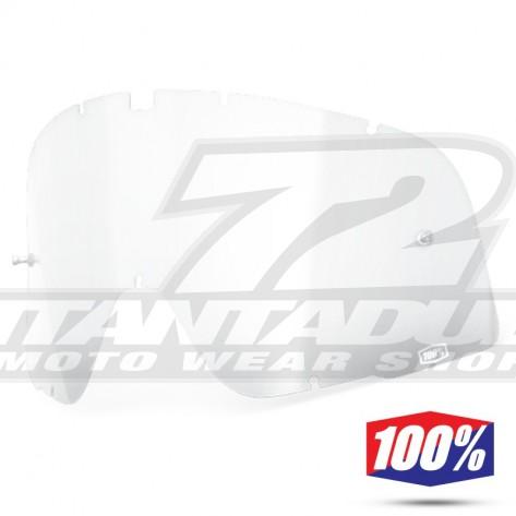 100% Lente Maschere Barstow - Trasparente