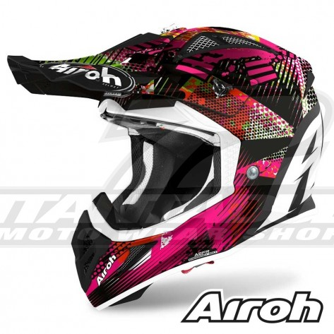 Casco Motocross Airoh AVIATOR ACE Insane - Opaco