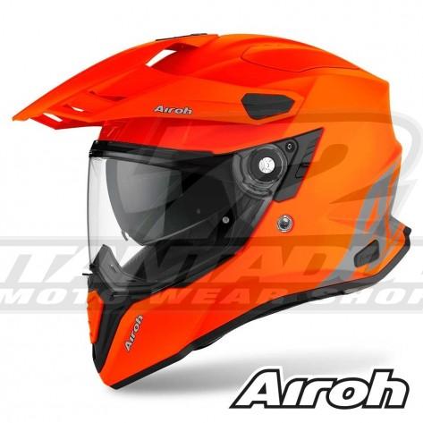 Casco Moto Crossover Airoh COMMANDER Color - Arancione Opaco