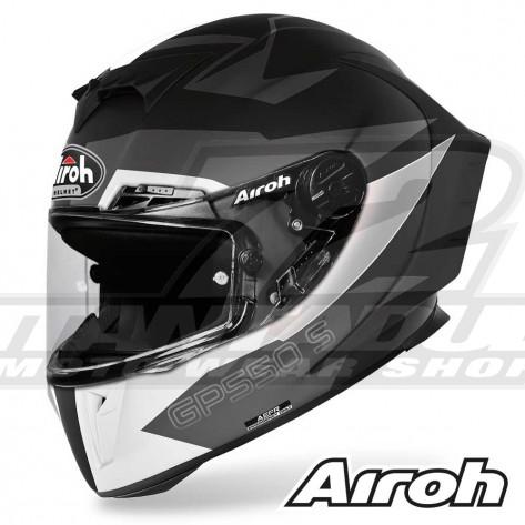 Casco Moto Integrale Airoh GP 550 S Vektor - Nero Opaco