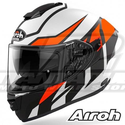 Casco Moto Integrale Airoh ST.501 Frost - Arancione Opaco