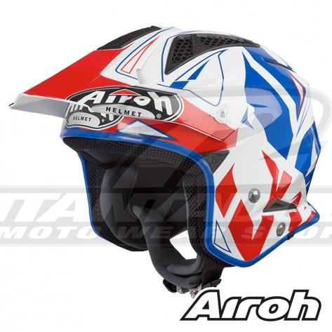 Casco Trial Airoh TRR S Convert - Blu
