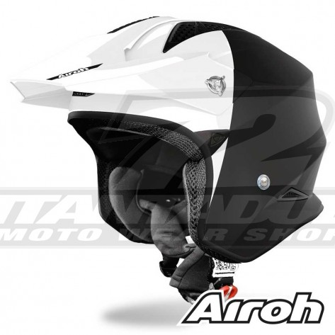 Casco Moto Jet Airoh TRR S Town - Opaco Lucido