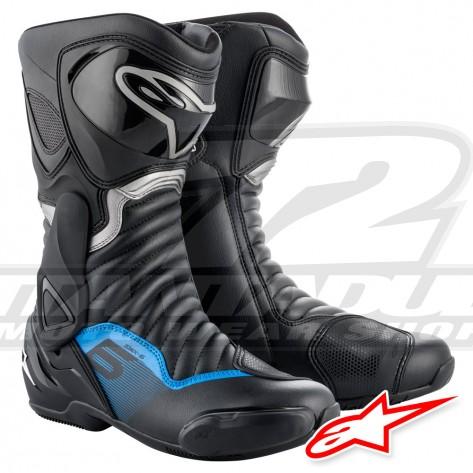 Stivali Alpinestars SMX-6 V2 - Nero Grigio Blu