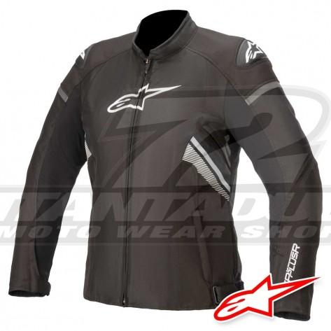 Giacca Moto Donna Alpinestars STELLA T-GP PLUS R V3 - Nero Bianco
