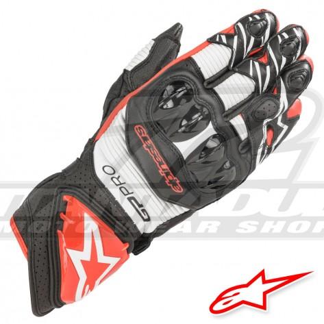 Guanti Alpinestars GP PRO R3 - Nero Bianco Rosso Luminoso