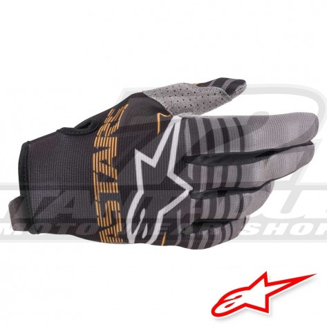 Guanti Cross Alpinestars RADAR - Nero Grigio Scuro