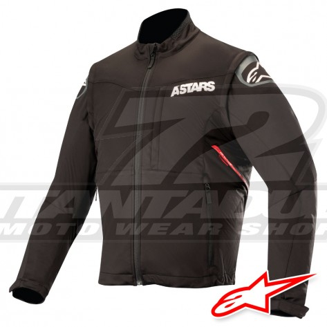 Giacca Enduro Alpinestars SESSION RACE - Nero Rosso