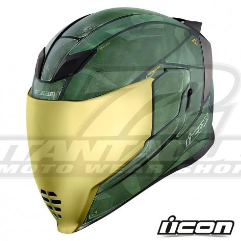 Casco Integrale Icon AIRFLITE Battlescar 2 - Verde