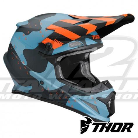 Casco Motocross Thor SECTOR MOSSER - Blu Camo