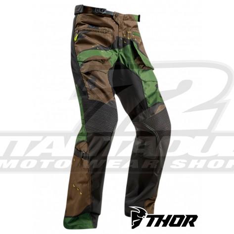 Pantaloni Enduro Thor TERRAIN (Over The Boot) - Verde Camo
