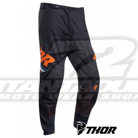 Pantaloni Cross Thor PULSE PINNER - Blu Notte Arancione