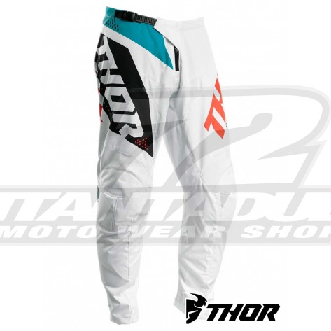 Pantaloni Cross Thor SECTOR BLADE - Bianco Acqua