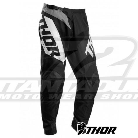 Pantaloni Cross Thor SECTOR BLADE - Nero Bianco