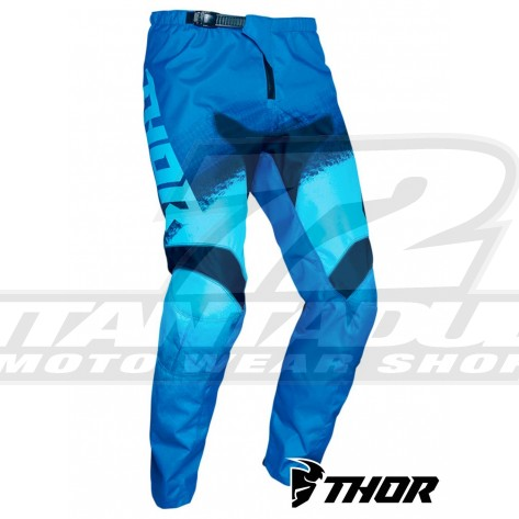 Pantaloni Cross Bambino Thor Youth SECTOR VAPOR - Blu Midnight