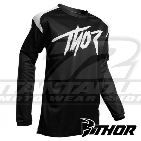Maglia Cross Thor SECTOR LINK - Nero