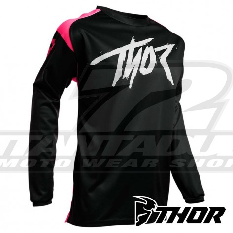 Maglia Cross Thor SECTOR LINK - Rosa