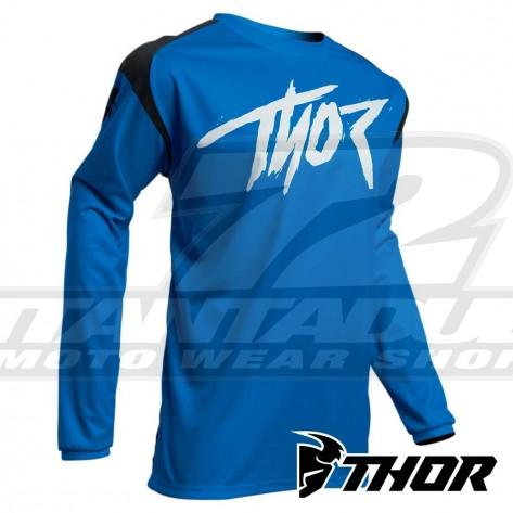 Maglia Cross Bambino Thor Youth SECTOR LINK - Blu