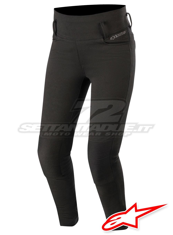 Fox Racing Moto da Donna Pantaloni Leggings-Nero Tutte le Taglie