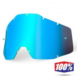 100% Lente Maschere - Blu Specchio
