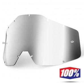 100% Lente Maschere Youth - Argento Specchio
