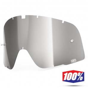 100% Lente Maschere Barstow - Argento Specchio