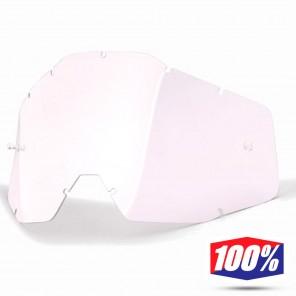 Lente Ricambio Maschere Cross 100% Mini - Trasparente
