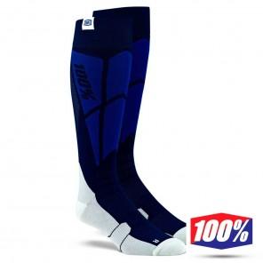 Calze Motocross 100% HI SIDE Performance - Blu Navy Grigio