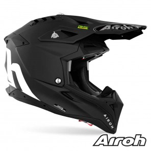 Casco Airoh AVIATOR 3 Color - Nero Opaco