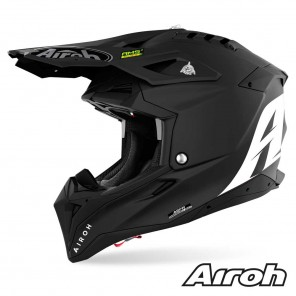Casco Motocross Airoh AVIATOR 3 Color - Nero Opaco