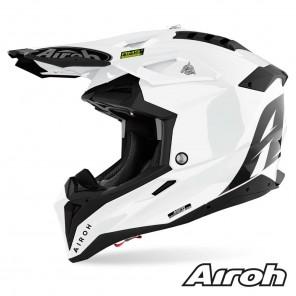 Casco Motocross Airoh AVIATOR 3 Color - Bianco