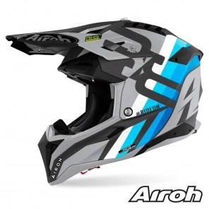Casco Motocross Airoh AVIATOR 3 Rainbow - Antracite Opaco