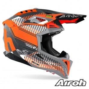 Casco Airoh AVIATOR 3 Wave - Arancione Cromo