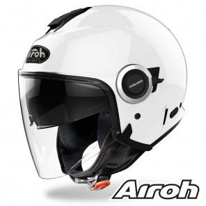 Casco Moto Jet Airoh HELIOS Color - Bianco