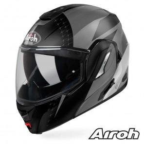 Casco Moto Apribile Airoh REV 19 Leaden - Antracite Opaco