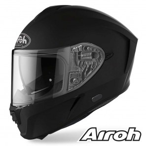 Casco Moto Integrale Airoh SPARK Color - Nero Opaco