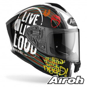 Casco Airoh SPARK Rock'n'roll - Nero