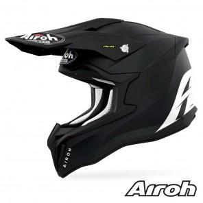 Casco Motocross Airoh STRYCKER Color - Nero Opaco