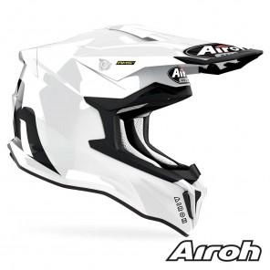 Casco Airoh STRYCKER Color - Bianco