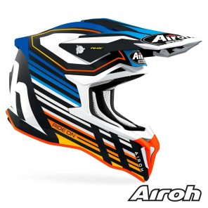 Casco Airoh STRYCKER Shaded - Blu Opaco