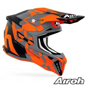 Casco Airoh STRYCKER XXX - Arancione Opaco