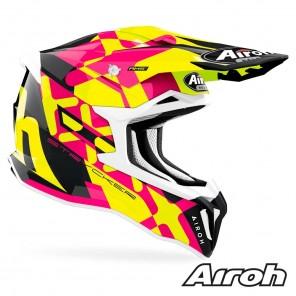 Casco Airoh STRYCKER XXX - Rosa