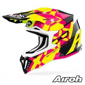 Casco Motocross Airoh STRYCKER XXX - Rosa