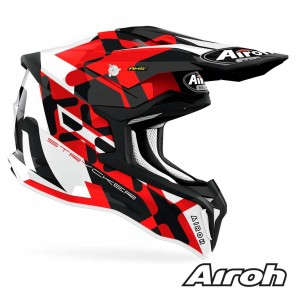 Casco Airoh STRYCKER XXX - Rosso