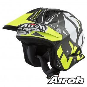 Casco Trial Airoh TRR S Convert - Giallo Opaco